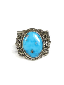 Sleeping Beauty Turquoise Ring Size 11 by Fritson Toledo