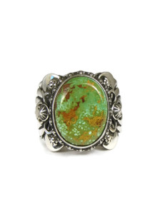 Royston Turquoise Ring Size 10 by Fritson Toledo