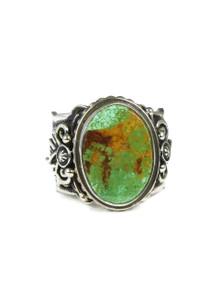 Royston Turquoise Ring Size 12 by Fritson Toledo