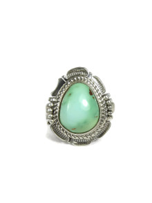 Pilot Mountain Turquoise Ring Size 7 by Bennie Ration