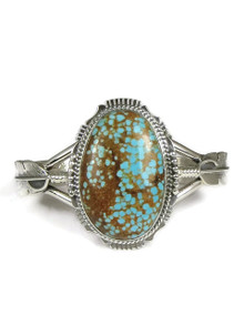 Number 8 Turquoise Feather Bracelet by  John Nelson