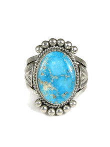 Natural Kingman Turquoise Ring Size 12 1/2 (RG3718)