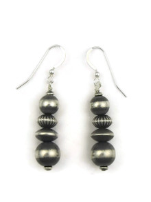 Silver Bead Earrings (ER4098)