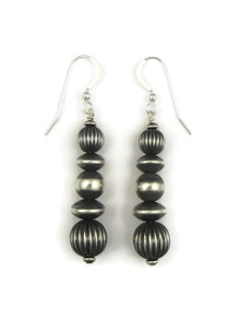 Silver Bead Earrings (ER4099)