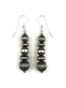 Silver Bead Earrings (ER4099)