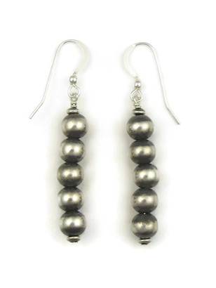 Silver Bead Earrings (ER5001)
