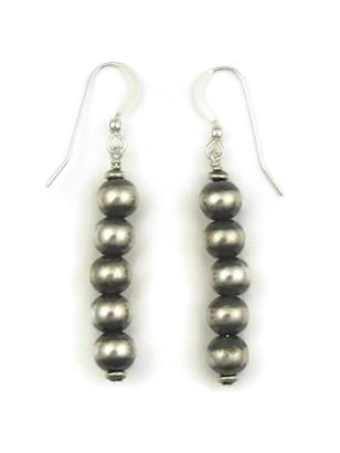 Silver Bead Earrings (ER5001)