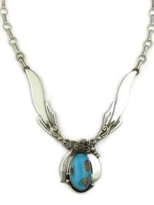 Sleeping Beauty Turquoise Necklace by Fritson Toledo (NK4614)