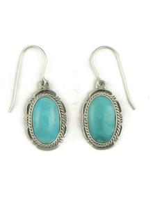Turquoise Mountain Earrings by Kim Yazzie (ER5093)