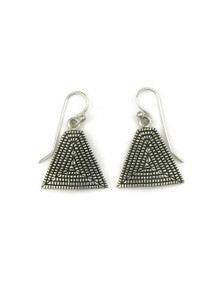 Sterling Silver Earrings by Elgin Tom