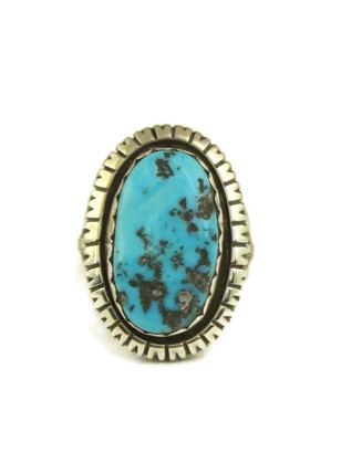 Sleeping Beauty Turquoise Ring Size 8