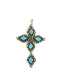 Turquoise Cross Pendant (PD3955)