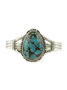 Number 8 Turquoise Bracelet by John Nelson