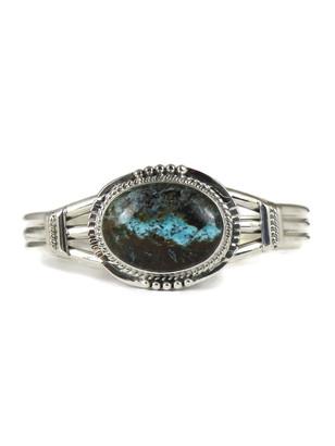 Boulder Turquoise Bracelet by John Nelson (BR4674)