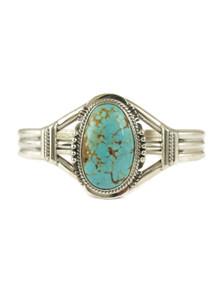 Number 8 Turquoise Bracelet by John Nelson (BR4677)