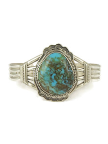 Number 8 Turquoise Bracelet by John Nelson (BR4679)