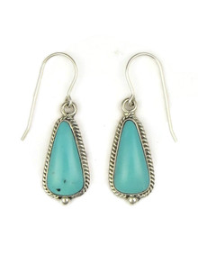 Turquoise Mountain Earrings by Beverly Francisco