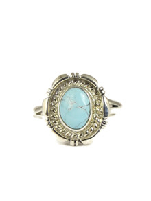 Dry Creek Turquoise Ring Size 9 1/2 by Norvin Johnson