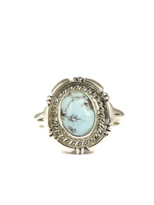 Dry Creek Turquoise Ring Size 10 by Norvin Johnson (RG4971)