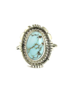Dry Creek Turquoise Ring Size 10 by Norvin Johnson (RG4972)