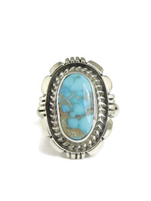Dry Creek Turquoise Ring Size 6 by Norvin Johnson (RG4973)