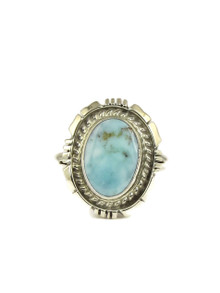 Dry Creek Turquoise Ring Size 9 1/2 by Norvin Johnson (RG4975)