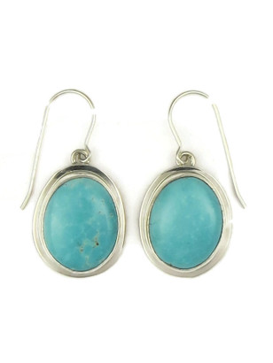 Sierra Nevada Turquoise Earrings by Lyle Piaso (ER4015)