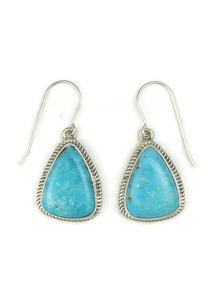 Kingman Turquoise Earrings by Lyle Piaso (ER4016)