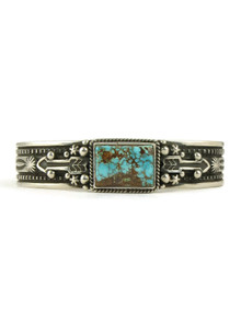 Pilot Mountain Turquoise Arrow Bracelet by Happy Piaso (BR4689)