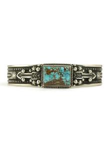 Pilot Mountain Turquoise Arrow Bracelet by Happy Piaso (BR4689)
