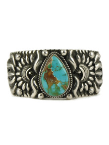 Royston Turquoise Cuff Bracelet by Darryl Becenti (BR4691)