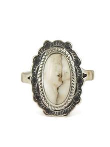 White Buffalo Ring Size 9 by Jake Sampson