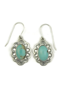 Turquoise Mountain Earrings by Frederick Chavez (ER4021)