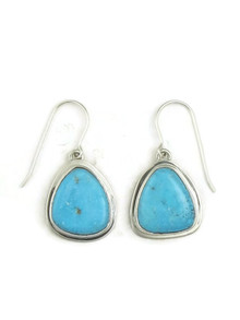 Kingman Turquoise Earrings by Lyle Piaso (ER4027)