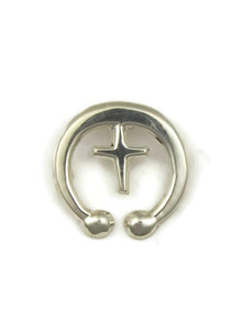 Silver Cross Naja Pendant by Mildred Parkhurst