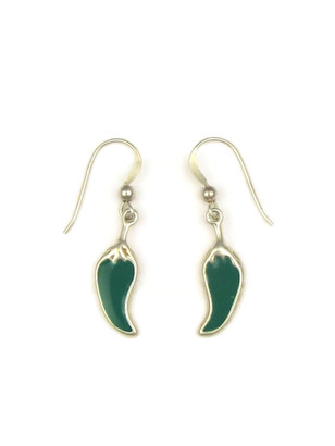 Free with $50 Purchase - Southwest Green Chili Earrings