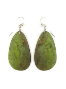 Turquoise Slab Earrings by Ronald Chavez (ER4121)