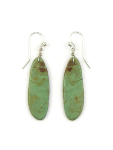 Turquoise Slab Earrings by Ronald Chavez (ER4141)