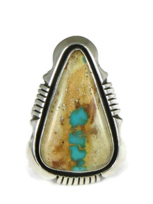 Royston Boulder Turquoise Ring Size 8 by Cooper Willie (RG4990)