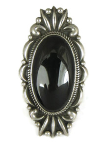Large Black Onyx Ring Size 8 by Albert Jake