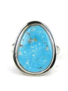 Kingman Turquoise Ring Size 7 by Lyle Piaso (RG5001)