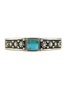 Pilot Mountain Turquoise Bracelet by Happy Piaso (BR4345)