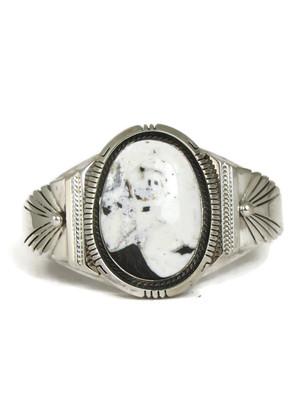White Buffalo Bracelet by Joe Piaso