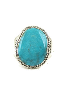 Candalaria Turquoise Ring Size 10 1/4 by Joe Piaso Jr. (RG5028)