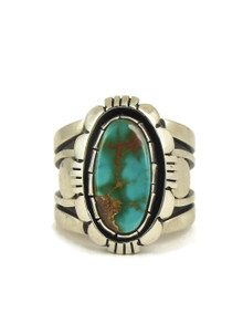 Royston Turquoise Ring Size 10 1/2 by Cooper Willie (RG5038)