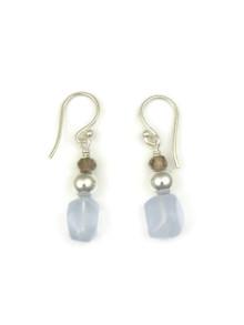 Chalcedony Bead Earrings (ER5116)