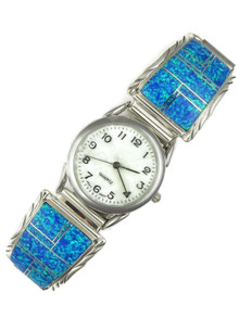 Blue Opal Inlay Watch (WTH855)