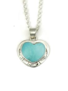 Sierra Nevada Turquoise Heart Pendant (PD4094)