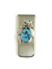 Kingman Turquoise Money Clip (MC552)