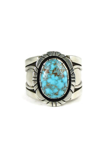 Kingman Turquoise Ring Size 11 by Cooper Willie (RG5065)